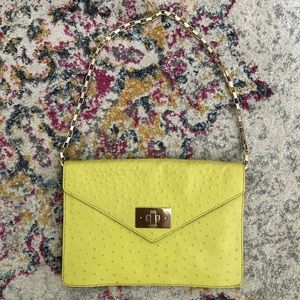 Kate Spade Post Madison Ostrich Bag